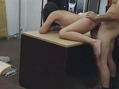 Brunette Fucked And Facial...