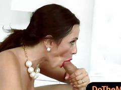 Mature stepmom Ariella...