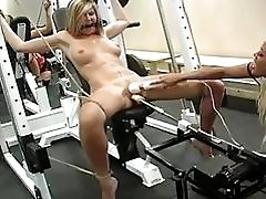 Two Blondes In Bdsm Fucking...