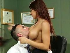 Busty Madison Ivy railed in...