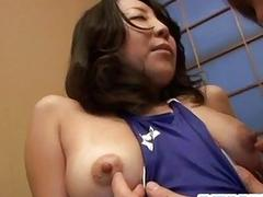 Sachiko Asian mature gets...